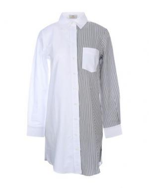 Pубашка EDUN. Цвет: белый
