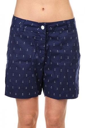 Шорты классические женские  Whiff Shorts Patriot Colour Wear. Цвет: синий