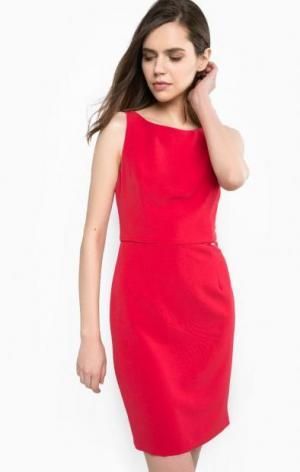 Красное платье со съемным бантом на спине Liu Jo. Цвет: красный