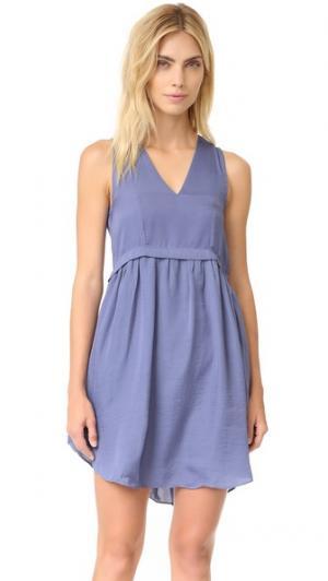 Платье Alhena dRA. Цвет: сланец