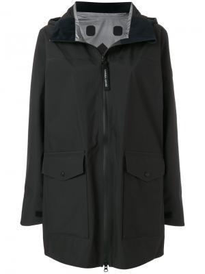 Wolfville hooded raincoat Canada Goose. Цвет: чёрный