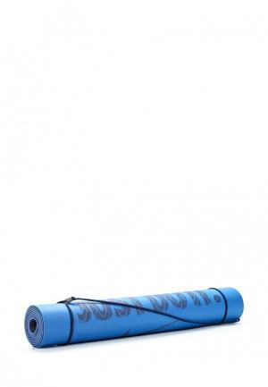 Коврик для йоги Nike. Цвет: синий