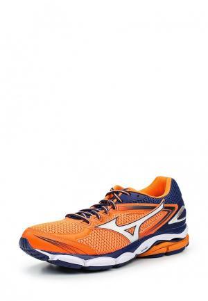 Кроссовки Mizuno. Цвет: оранжевый