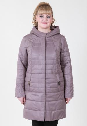 Куртка утепленная Wiko. Цвет: розовый