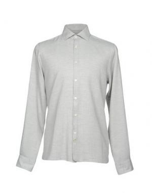 Pубашка J. LINDEBERG. Цвет: светло-серый