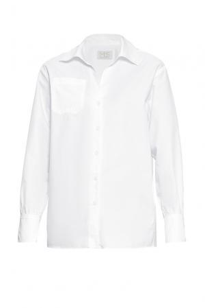 Рубашка из хлопка 162424 Mos. Цвет: белый