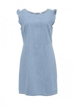 Платье джинсовое BlendShe. Цвет: голубой