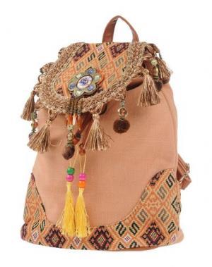 Рюкзаки и сумки на пояс STUDIO MODA. Цвет: телесный
