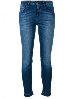 Облегающие джинсы Closed. Цвет: синий