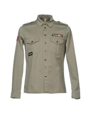 Pубашка X-CAPE. Цвет: зеленый-милитари