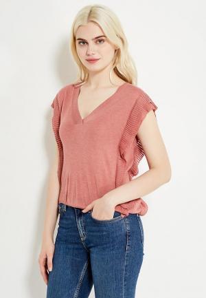 Пуловер Mango. Цвет: розовый
