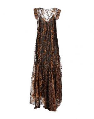 Длинное платье OPENING CEREMONY. Цвет: верблюжий