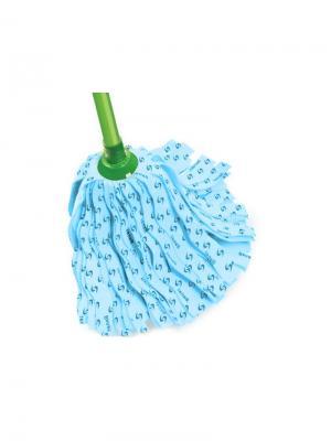 Моп ленточный из вискозы 780216 для мытья полов Banat. Цвет: голубой