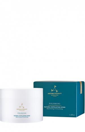 Натуральный скраб для тела с морской солью, кофе и грейпфрутом Polishing Natural Exfoliating Scrub Aromatherapy Associates. Цвет: бесцветный