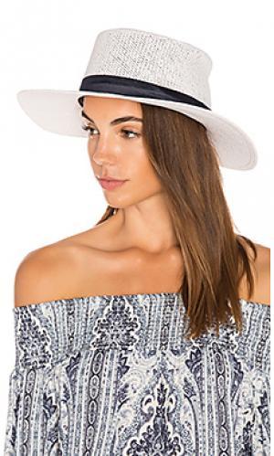 Шляпа bele KIN/K. Цвет: белый