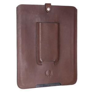 Чехол для iPad  Leather Tablet Case Brown Fred Perry. Цвет: коричневый