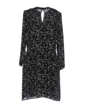 Короткое платье BELLA JONES. Цвет: черный