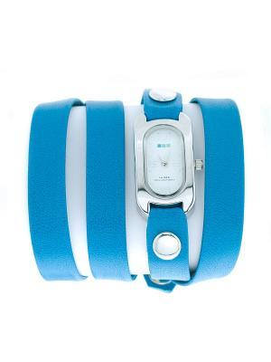 Часы La Mer Collections. Цвет: лазурный, серебристый