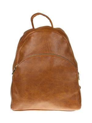 Рюкзак Gusachi. Цвет: коричневый, золотистый
