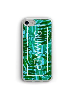 Чехол для iPhone 7/8 Summer Boom Case. Цвет: зеленый, морская волна