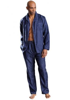 Пижама BRUNO BANANI. Цвет: темно-синий