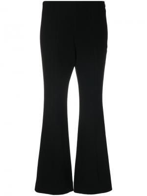 Расклешенные укороченные брюки Sonia Rykiel. Цвет: чёрный