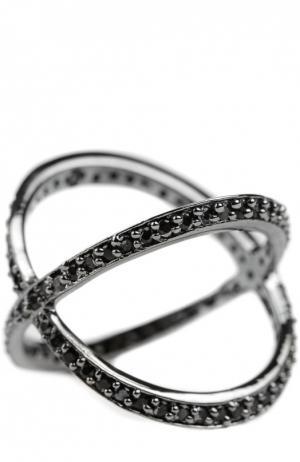 Кольцо JLC Accessories. Цвет: серый