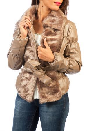 Куртка La Belle Helene. Цвет: коричневый