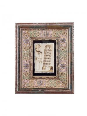 Рамка для фотографии 10х15 см Jia Cheng. Цвет: темно-коричневый, светло-зеленый, серо-голубой
