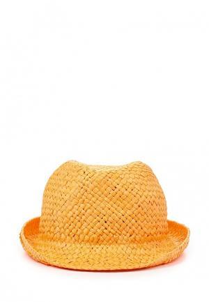 Шляпа Trussardi Jeans. Цвет: оранжевый