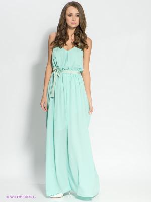 Платье CONVER. Цвет: бирюзовый