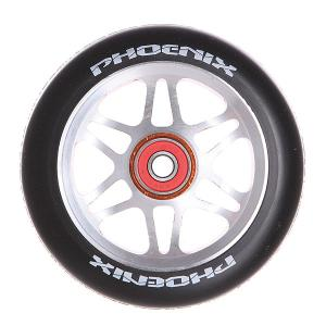 Колесо для самоката  F6 Alloy Core Wheel 110mm With Abec 9 Bearings Orange/Black Phoenix. Цвет: черный,серый,оранжевый