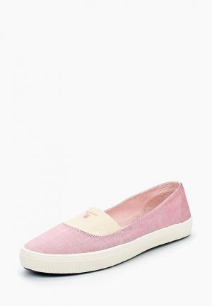 Балетки Gant. Цвет: розовый
