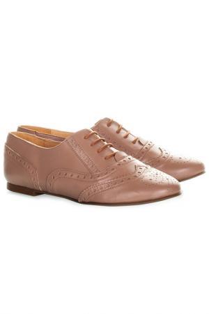 Ботинки EVA LOPEZ. Цвет: бежевый