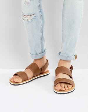 Call it Spring Светло-коричневые сандалии Howland. Цвет: рыжий