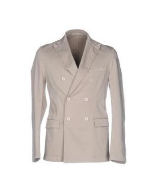Пиджак EXIBIT. Цвет: бежевый