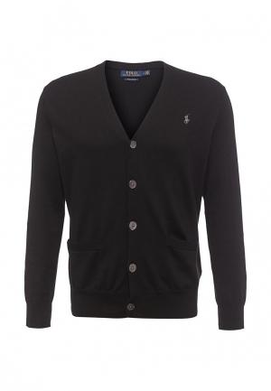 Кардиган Polo Ralph Lauren. Цвет: черный