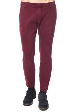 Pants Michael Coal. Цвет: dark red