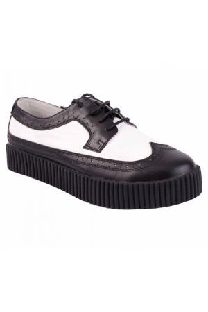 Ботинки Gulliver. Цвет: черный, белый (big)