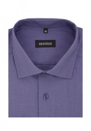 Рубашка Berthier. Цвет: фиолетовый