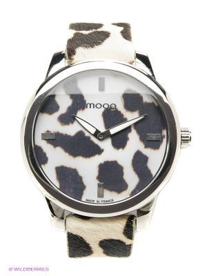 Часы MOOG. Цвет: кремовый