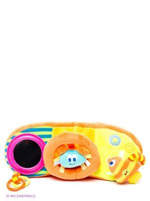 Развивающая игрушка Руль Amico. Цвет: оранжевый, розовый, желтый
