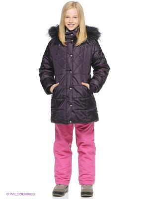 Пальто SAIMA. Цвет: фиолетовый