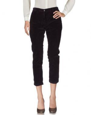 Повседневные брюки MYTHS. Цвет: фиолетовый