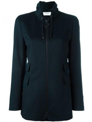 Куртка на молнии Akris. Цвет: синий