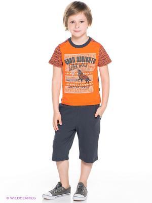Комплект Апрель. Цвет: оранжевый, темно-синий