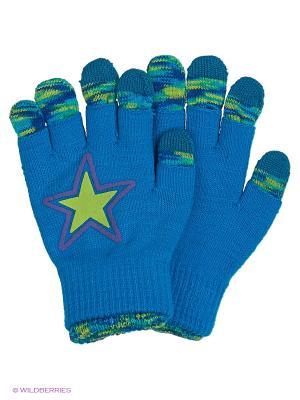 Перчатки для сенсорных экранов TERRITORY. Цвет: голубой