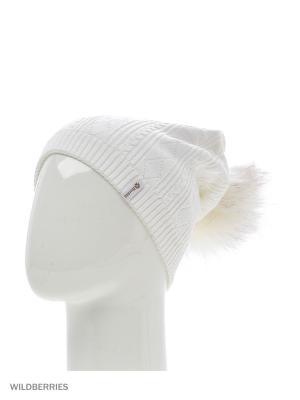 Шанхай Беркле шапка женская с помпоном Berkle. Цвет: белый