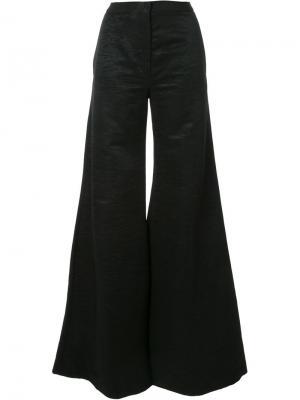 Расклешенные брюки Gareth Pugh. Цвет: чёрный
