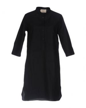 Короткое платье FOLK. Цвет: темно-синий